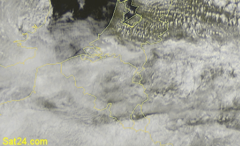 Satellietfoto Belgie 29-08-2008